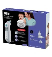 Braun ThermoScan 5 Ear Thermometer with Back Light Display