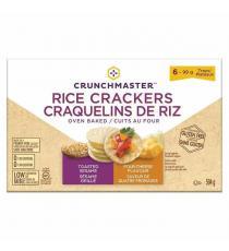 Crunch Master Rice Crackers, 595 g