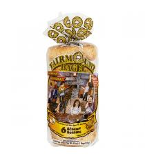 L'authentique Fairmount Bagel - Bagel avec graines de sésame 3 × 420 g