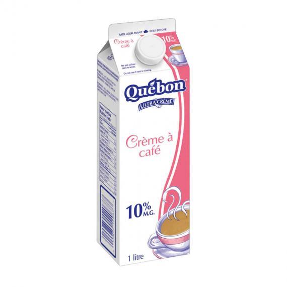 Quebon Café Crème 10%, 1 L