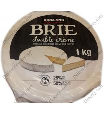 Kirkland Signature Brie Double Cream 1 kg