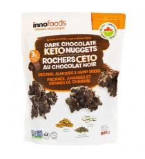 INNO Foods, Rochers Ceto Au Chocolat Noir 500 g