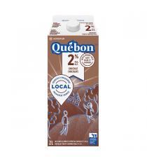 Quebon Lait au Chocolat 2% 2L