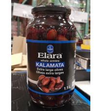 Elara Whole Kalamata Olives 1.5 L