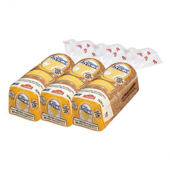 Boulangerie St-MethodeMulti-Cereal Bread, 3 packs x 500 g
