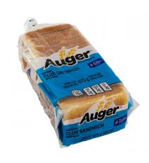 Auger Club Sandwich de Pain Blanc, de 3 packs x 675 g