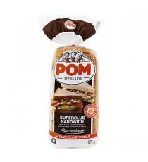 POM Ultra Soft Whole Wheat Bread, 3 packs x 675 g