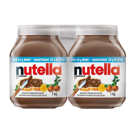 Nutella Ferrero 2 x 1 kg