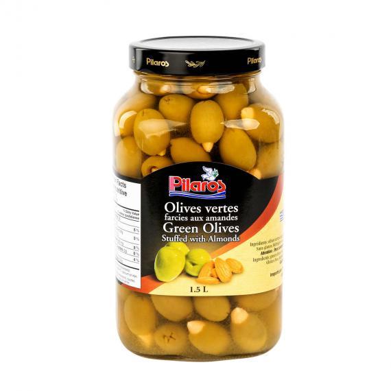 Pilaros Green Olives 1.5 L