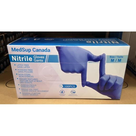 Nitril Gloves, Small, Latex Free, Non-Sterile, Pack of 100