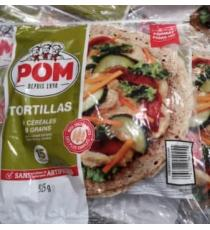 POM TORTILLAS 9 GRAIN, 15 Tortillas, 915 g