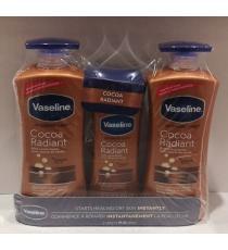 Vaseline, Cocoa Radiant 2 x 600 ml + 295 ml