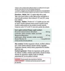 Jamieson – Calcium magnésium avec vitamine D3 -- 420 comprimés