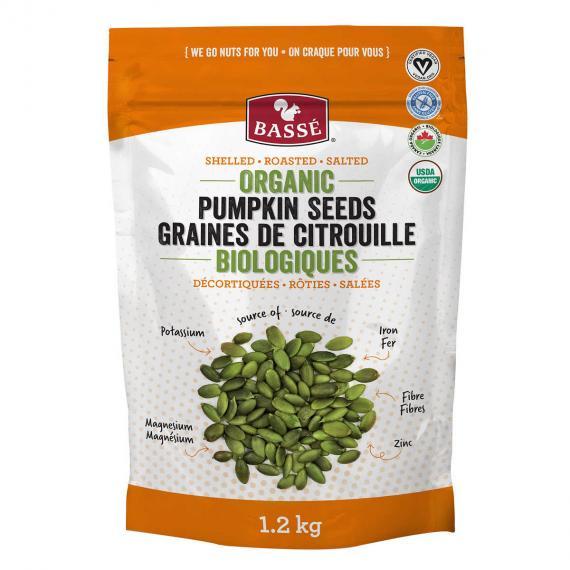 BASSE Organic Pumpkin Seed Kernels, 1kg