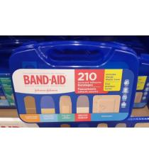 Band-Aid, Pansements Adhésifs de Marque, sélection variée, paquet de 210