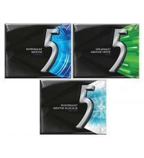 Wrigley's 5 Sugar-free Gum, Variety Pack, 15 sticks, 12-pack