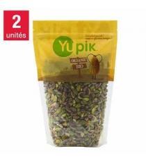 Yupik Gluten-free Organic Pistachio Kernels, 1 kg (2.2 lb), 2-pack