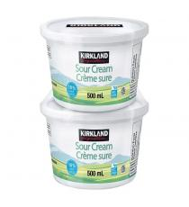 Kirkland Signature Crème sure 18 % 2 x 500 ml
