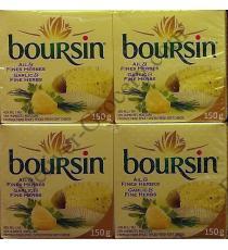 Boursin, Fromage à l'Ail 2 x 150 g