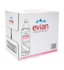 Evian - Eau de source naturelle 12 × 1.5 L