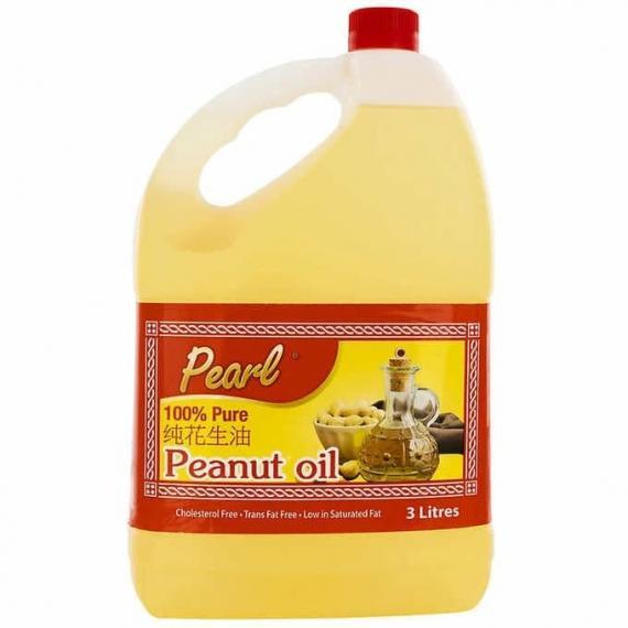 Pearl - Huile d'arachide 100 % pure, 3l