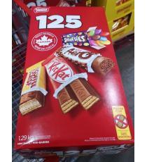 Nestlé, mini assortiment de barres de chocolat, paquet de 120