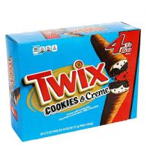 Twix Cookies and Creme King Size, Chocolate cookie Bar, 20 × 77 g