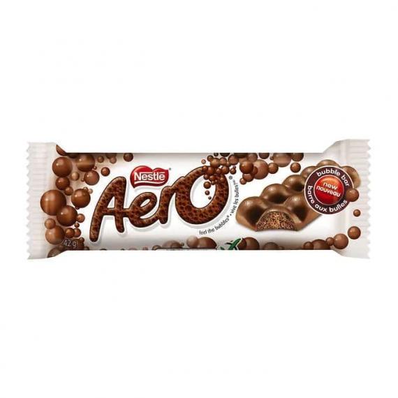 Aero Milk Original Chocolate Bars, 48 × 42 g
