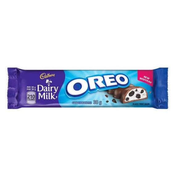 Cadbury Dairy Milk Oreo Bars, 12 × 38 g