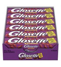 Glosette Chocolate Covered Raisins, 18 × 50 g