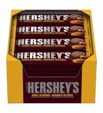 Hershey's Almond Chocolate Bars, 36 × 43 g