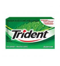 Trident Sugar-free Spearmint Gum, 12 packs of 14