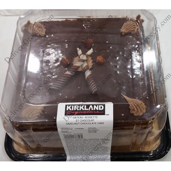 Kirkland Signature de Noisette Gâteau au Chocolat 1.3 kg