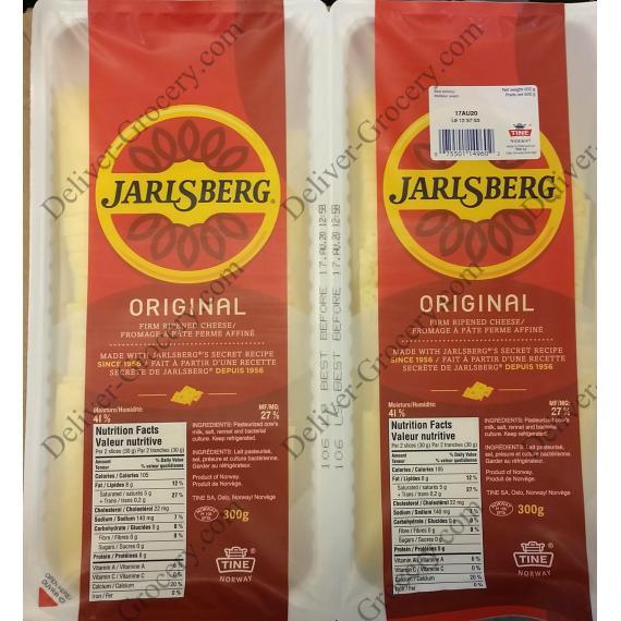 Le jarlsberg Original Fromage affiné à pâte Ferme 2 x 300 g