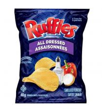 Ruffles All Dressed Chips, 48 × 40 g