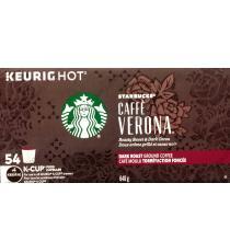 Starbucks - Caffè Verona capsules K-Cup Paquet de 54