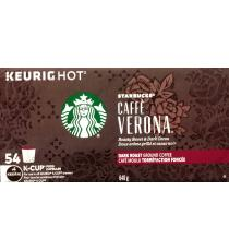 Starbucks Caffè Verona Coffee K-Cup Pods Pack of 54