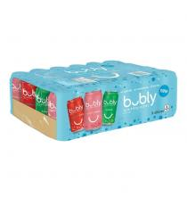Bubly Sparkling Water Beverage Variety Pack, 24 × 355 mL