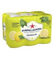 San Pellegrino Grapefruit Carbonated Beverage, 24 × 330 mL