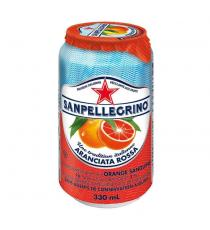 San Pellegrino Aranciata Rossa Sparkling Beverage, 24 × 330 mL