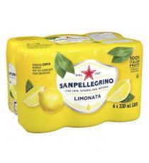 San Pellegrino Limonata Carbonated Beverage, 24 × 330 mL