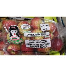 Paula Red Apples, Product of Quebec, 2.72 kg / 6 lbs