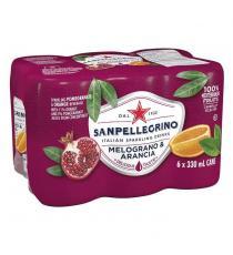 San Pellegrino Pomegranate and Orange Sparkling Beverage, 24 × 330 mL