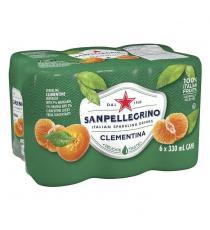 San Pellegrino Clementina Carbonated Beverage, 24 × 330 mL