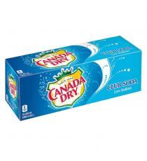 Canada Dry Club Soda, 12 × 355 mL