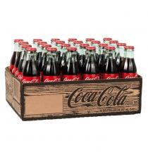 Coca-Cola Glass Bottles, 24 × 237 mL