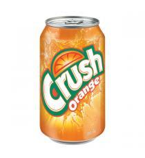 Crush Orange, Pack 24 × 355 mL