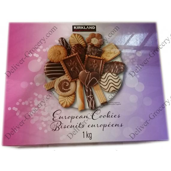 Kirkland Signature European Cookies 1 kg