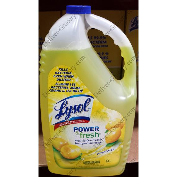 Lysol Disinfectant All Purpose Cleaner, 4.26 L