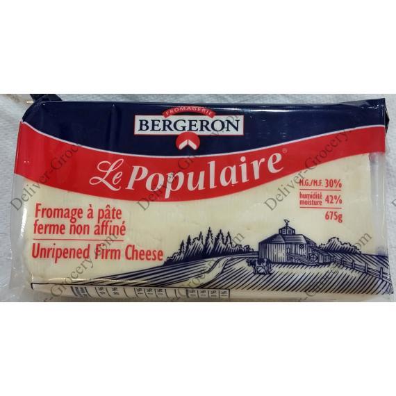 Fromagerie Bergeron Le Populaire, Fromage à pâte Ferme 675 g